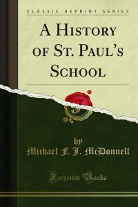 A History of St. Paul's School