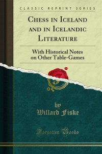 Chess in Iceland and in Icelandic Literature