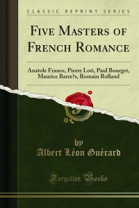 Five Masters of French Romance