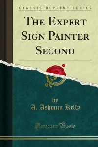 The Expert Sign Painter Second