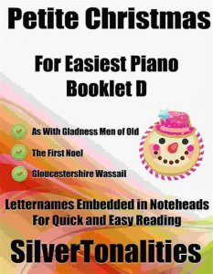 Petite Christmas for Easiest Piano Booklet D
