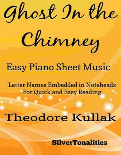 The Ghost In the Chimney Easy Piano Sheet Music